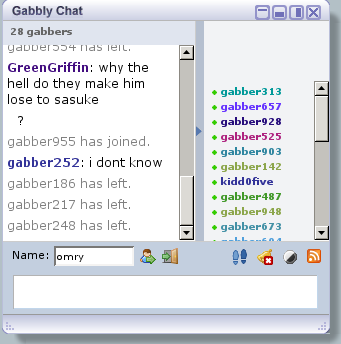 gabbly chat client